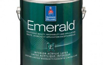 Краска Sherwin Williams Emerald Interior Flat галлон (3,8л)
